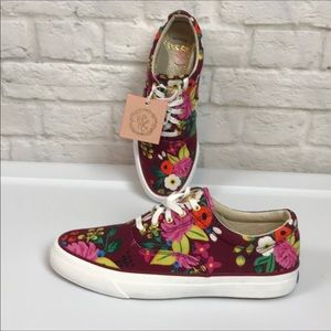 KEDS Floral Blossom Sneakers NWOB